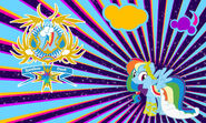 Rainbow dash gala wall by evilarticfox-d3mzywy