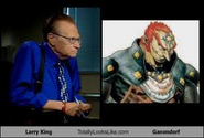 Ganon and Larry King