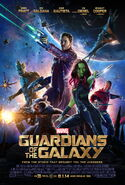 Guardians of the Galaxy theatrical poster