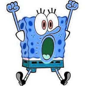 Blue Spongebob