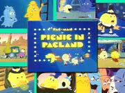 Pac-man cartoon
