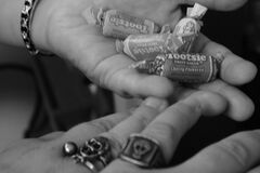Pirate rings and tootsie rolls