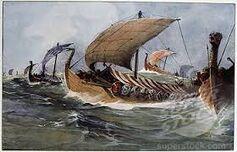 Viking longships