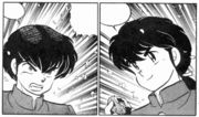 Ryoga first meets Ranma
