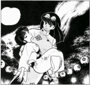 Mousse kidnaps Akane - Duck, Ranma, Duck!