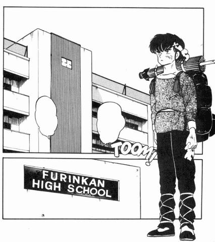 File:Ryoga arrives at Furinkan High.png