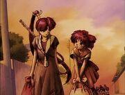 Natsume & Kurumi leave.jpg