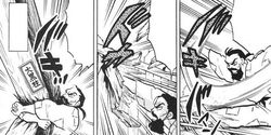 Ranma28 124 Ryu Kumon's father using techniques