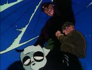 Kinnii kidnaps Genma