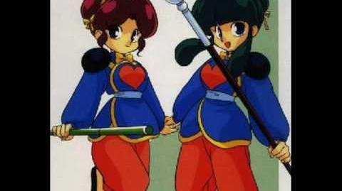 Ranma 1 2 - Fighting Songs Karuta - (40) - Ooen Teki Shampoo-anego
