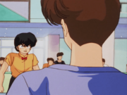 Ranma challenges Mikado - Abduction of P-chan