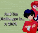 And the Challenger is... A Girl?!