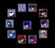 Akanekodan Teki Hihou playable characters.jpg