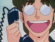 Dr. Tofu talks to Kasumi on phone