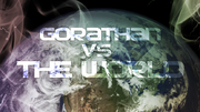 Gorathan VS The World ALBUM COVER
