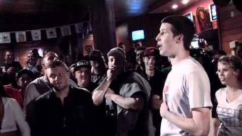KOTD - Rap Battle - Charron vs Chedda Cheese