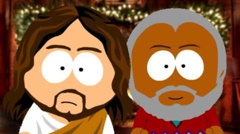 St Nicholas vs Jesus Christ
