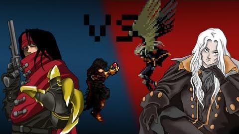 Alucard VS Vincent Valentine - The 8Bit Rap Battles 3