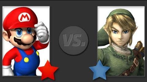 MARIO VS LINK THE RAP BATTLE