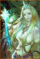 Ice Maiden Evo 3 Staged art card