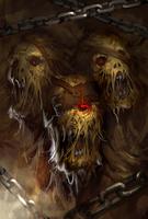 Blight Ogre Evo 1 art card