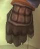 Tweed Leather Gloves