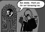 Bye daddy