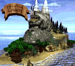 Donkey Kong Island - Map - Donkey Kong Country