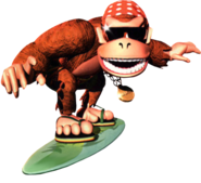 Funky Kong Artwork 2 - Donkey Kong Country