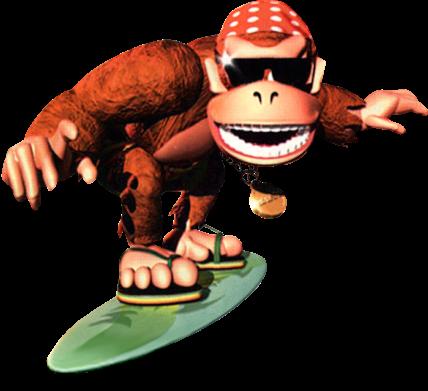 File:Funky Kong Artwork 2 - Donkey Kong Country.png