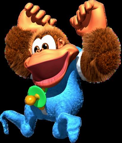 File:Kiddy Kong Artwork (Donkey Kong Country 3).png