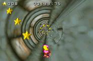 Swanky's Dash - Star Collecting - Lake Orangatanga - Donkey Kong Country 3 (Game Boy Advance)