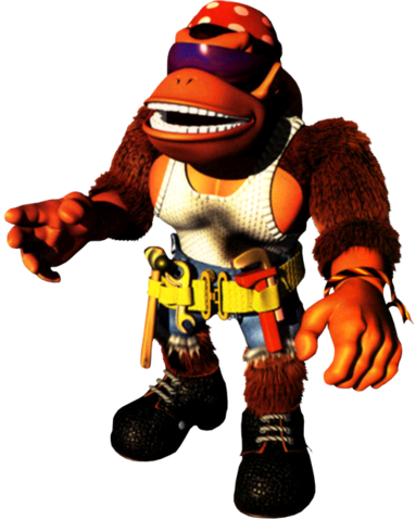 File:Funky Kong Artwork - Donkey Kong Country 3.png