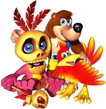 File:Banjo, Kazooie and Mumbo Jumbo.jpg