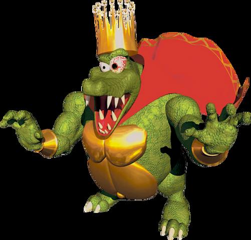 File:K. Rool Artwork - Donkey Kong 64.png