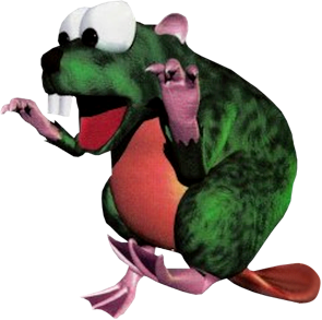 File:Gnawty Artwork (Donkey Kong Country).png