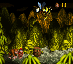 File:Queen B. Barrel - Donkey Kong Country.png