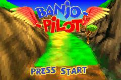 Banjo-Pilot Voxel - Title Screen