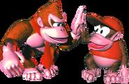 Group Art - Donkey Kong Country