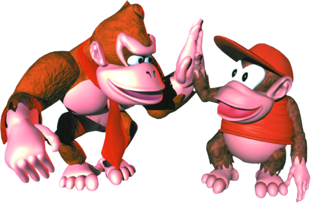 File:Group Art - Donkey Kong Country.png