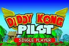 Diddy Kong Pilot 2003 - Title Screen
