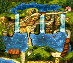 Cotton-Top Cove - World Map - Donkey Kong Country 3