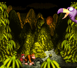 File:Master Necky Snr. - Shooting Nut - Donkey Kong Country.png