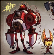 Lombax mouse and robot