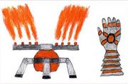 Plasma Sprinkler glove