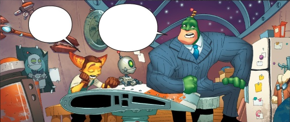 File:Ratchet Clank and Qwark in Ratchet's Garage.png