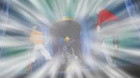 King attacks Haru and Gale