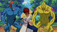 Shuda vs Monsters