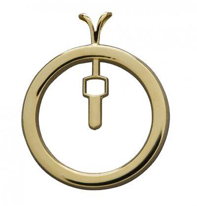 Plain Badge Charm YG 70496.1322712511.1280.1280