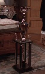Sportswriter trophy